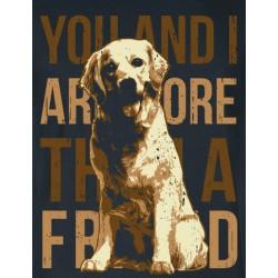 Pes Labrador friends - pánské/dámské