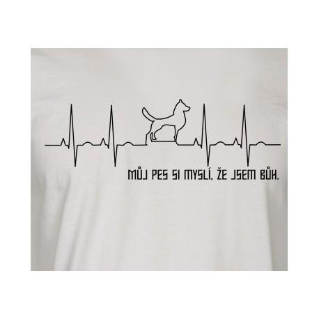 EKG můj pes si myslí, že jsem bůh- dámské
