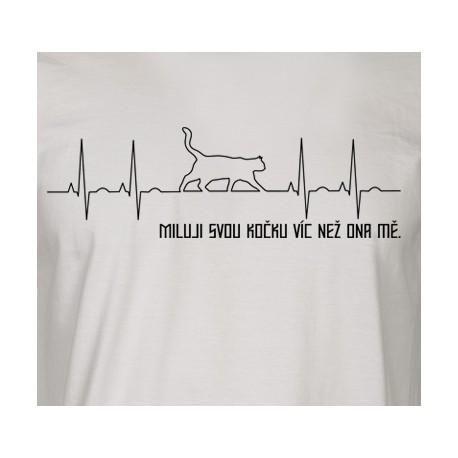 EKG miluji svou kočku víc než ona mě- pánské