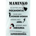 Máma superhrdinka - dámské