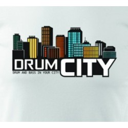 Tričko DRUM CITY
