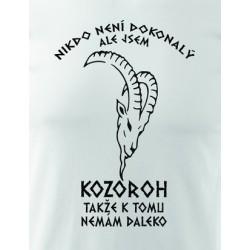 Narozeniny znamení KOZOROH- pánské triko