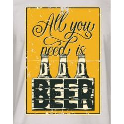 I NEED BEER- pánské/dámské