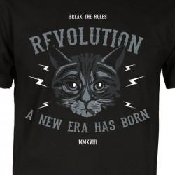 Tričko CAT REVOLUTION pánské/dámské
