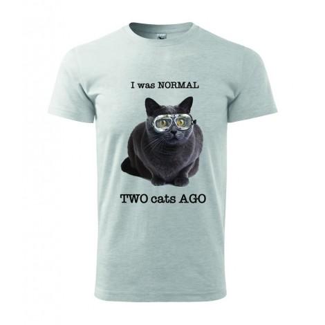 Normal 2 cats AGO - pánské tričko